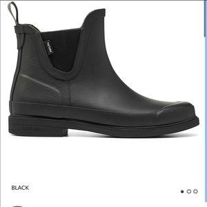 New in Box Tretorn Black Rain Boots